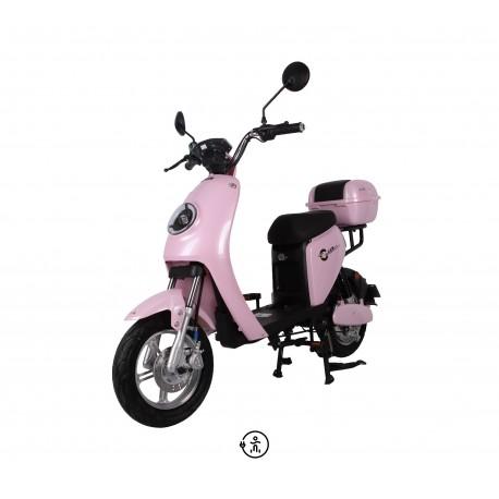 """Elektrinis motoroleris - SMARTER 400 (14"""")"""