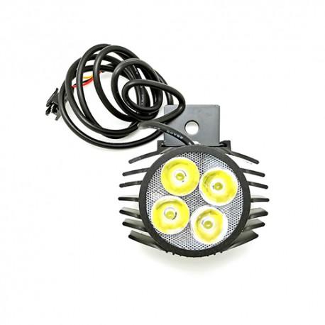 LED žibintas paspirtukui - dviračiui