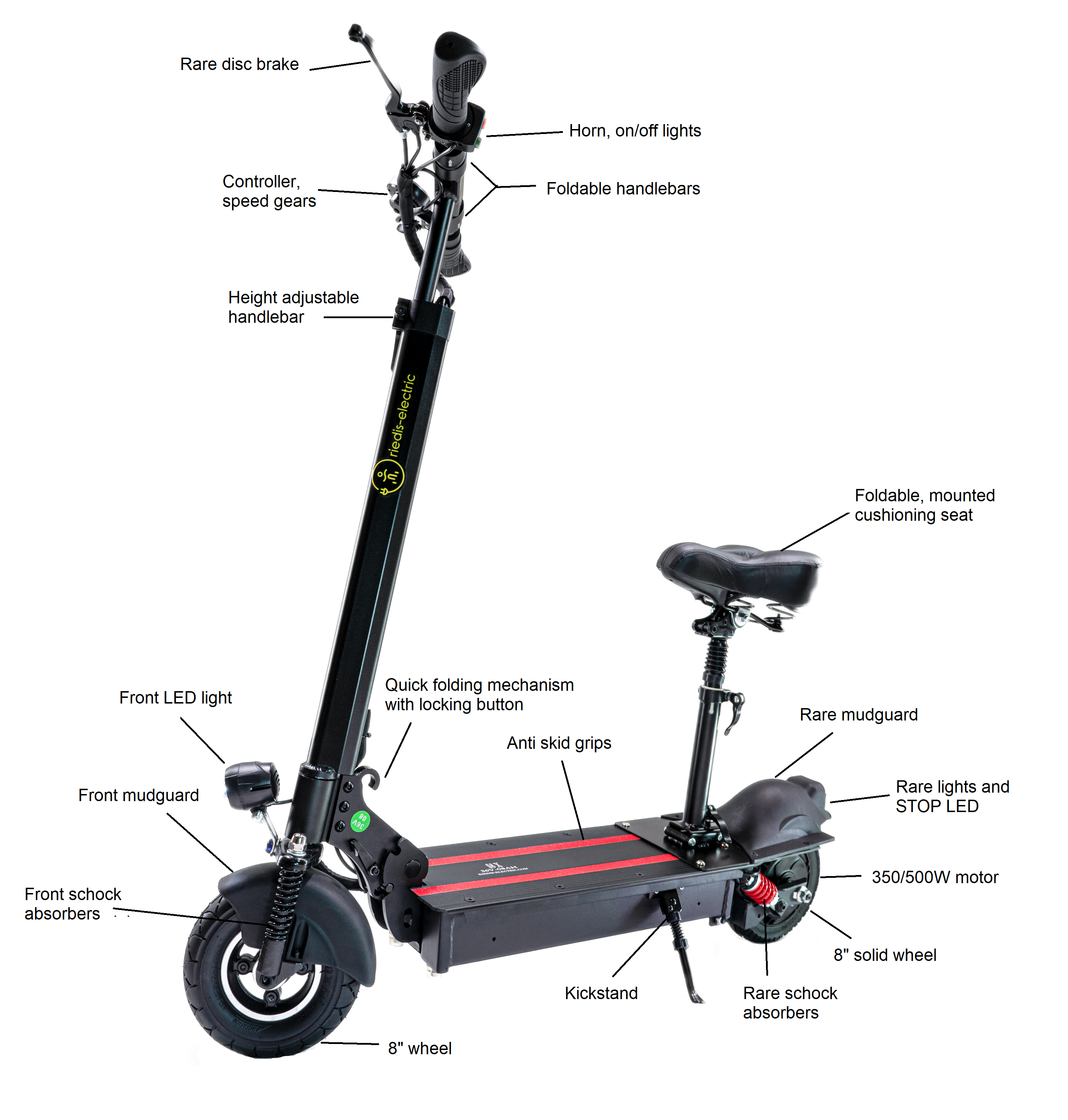 electric scooter S8 X SUPER 13Ah